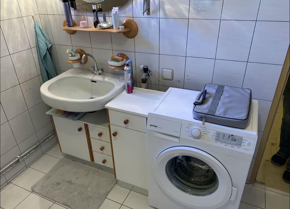 Bild zeigt altes Badezimmer